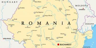 Bukarest Kartta Kartat Bukarest Romania